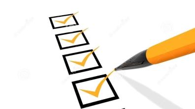 checklist-orange-white-back-ground-35697005