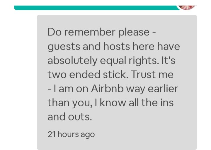 Airbnb: Getting Harassed by a Russian Guest: Part 1 – Julie-Noted